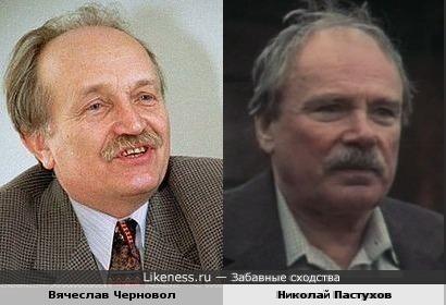Вячеслав Черновол и Николай Пастухов