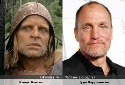 Клаус Кински и Вуди Харрельсон
