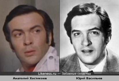 Актёры Анатолий Хостикоев и Юрий Васильев