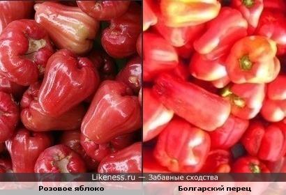 Экзотический фрукт похож на сладкий перец