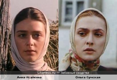 Анна Исайкина и Ольга Сумская