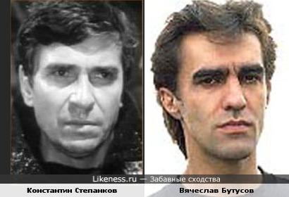 Константин Степанков и Вячеслав Бутусов