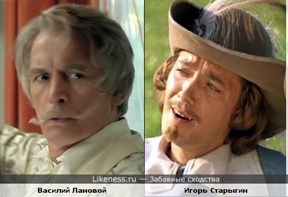 Василий Лановой и Игорь Старыгин