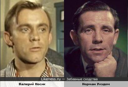 Валерий Носик и Норман Уиздом