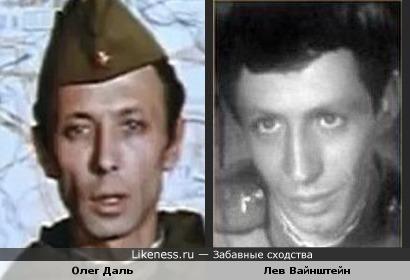 Олег Даль и Лев Вайнштейн