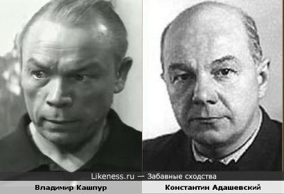 Владимир Кашпур и Константин Адашевский