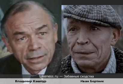 Владимир Кашпур и Иван Бортник