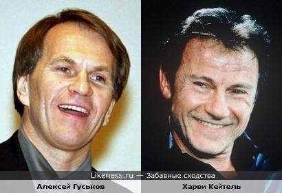 Алексей Гуськов и Харви Кейтель