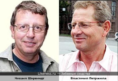 Михаил Ширвиндт и Властимил Петржела