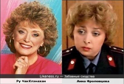 Ру МакКлэнахан и Анна ФроловцеваАнна Фроловцева