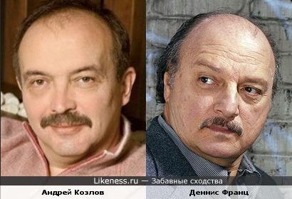 Андрей Козлов и Деннис Франц