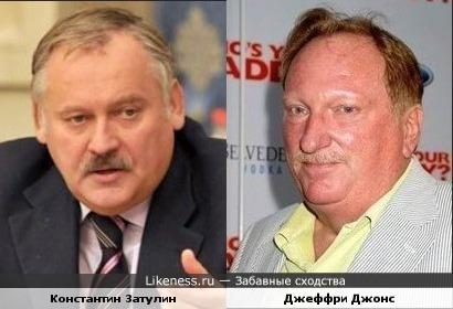 Константин Затулин и Джеффри Джонс