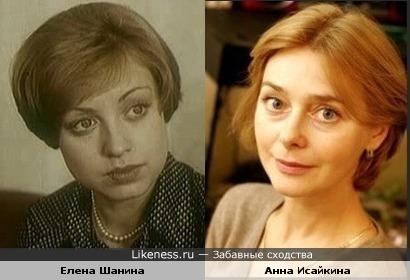 Актрисы Елена Шанина и Анна Исайкина