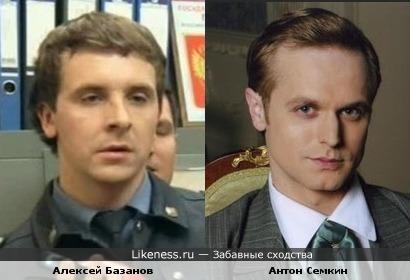 Алексей Базанов и Антон Семкин