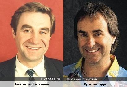 Анатолий Васильев и Крис де Бург