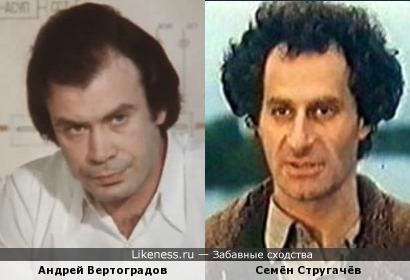 Андрей Вертоградов и Семён Стругачёв