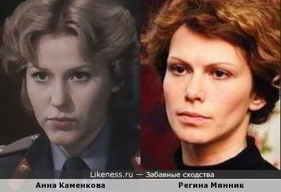 Актрисы Анна Каменкова и Регина Мянник