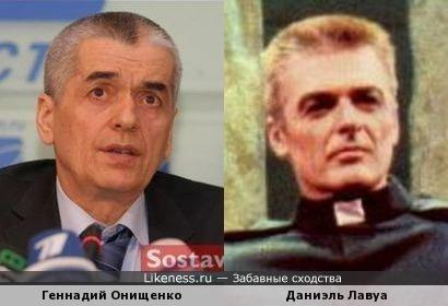 Геннадий Онищенко и Даниэль Лавуа
