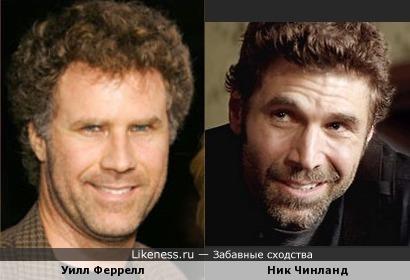 Уилл Феррелл и Ник Чинланд