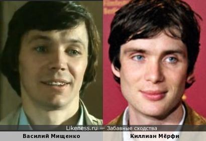 Василий Мищенко и Киллиан Мёрфи