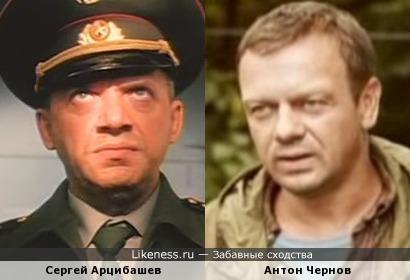 Сергей Арцибашев и Антон Чернов