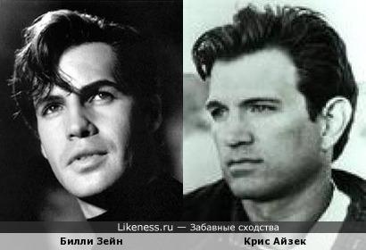 Билли Зейн и Крис Айзек