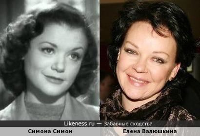 Симона Симон и Елена Валюшкина