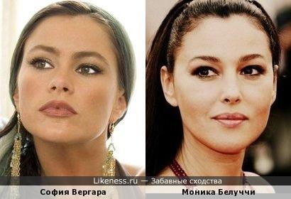 София Вергара и Моника Белуччи