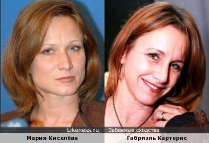 Мария Киселёва и Габриэль Картерис