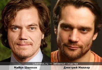 Майкл Шеннон и Дмитрий Миллер