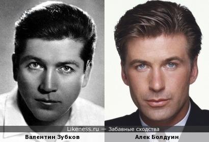 Валентин Зубков и Алек Болдуин