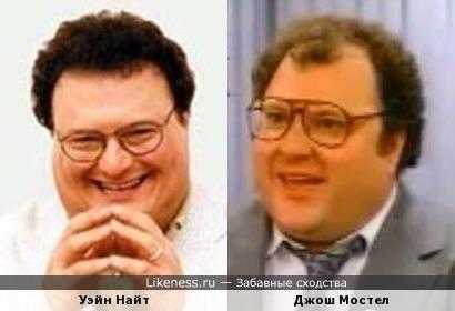 Уэйн Найт и Джош Мостел