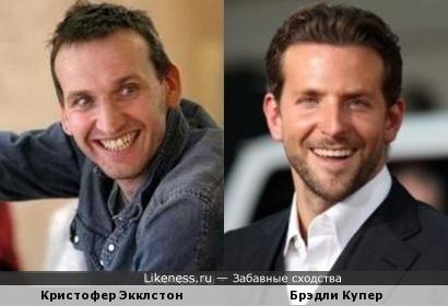 Кристофер Экклстон и Брэдли Купер
