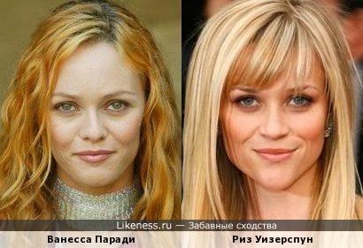 Ванесса Паради и Риз Уизерспун
