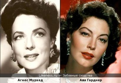 Агнес Мурхед и Ава Гарднер