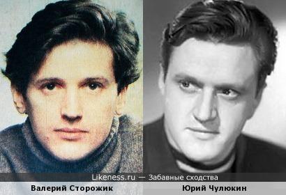 Валерий Сторожик и Юрий Чулюкин