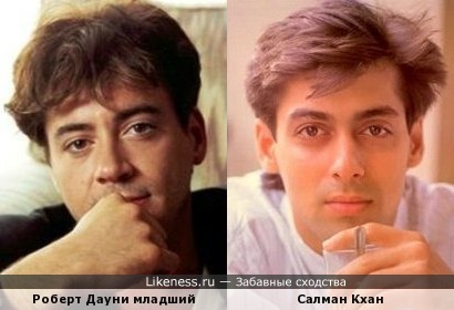 Роберт Дауни-младший и Салман Кхан