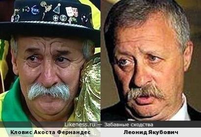 Кловис Акоста Фернандес напомнил Леонида Якубовича