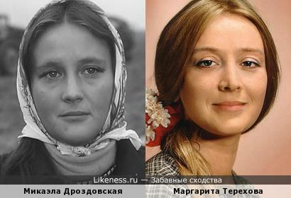 Микаэла Дроздовская напомнила Маргариту Терехову