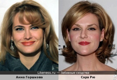 Анна Горшкова и Сара Рю
