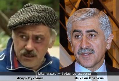 Игорь Вуколов и Михаил Погосян