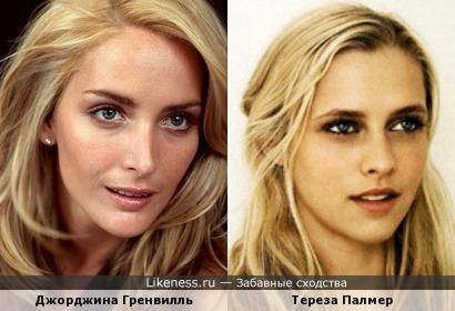 Джорджина Гренвилль и Тереза Палмер