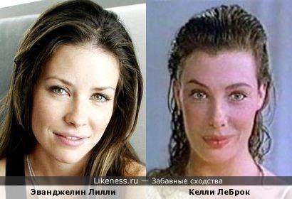 Эванджелин Лилли и Келли ЛеБрок