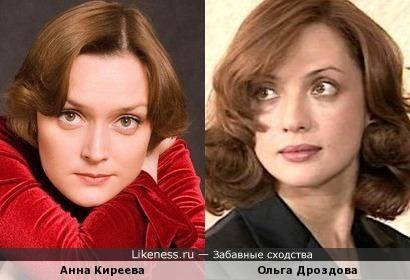 Анна Киреева и Ольга Дроздова