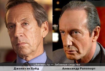 Джонатан Хайд и Александр Рапопорт