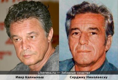 Ивар Калныньш и Серджиу Николаеску