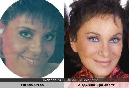 Мирла Очоа и Анджела Брамбати