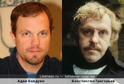 Адам Болдуин и Константин Григорьев
