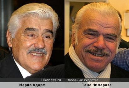 Марио Адорф и Тано Чимароза