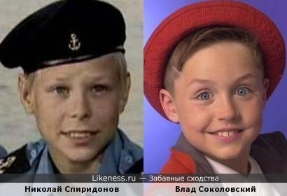 Николай Спиридонов и Влад Соколовский